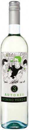 Vinho Verde 3 Autores Verde Branco D.O.C.