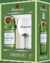 Tanqueray London Dry Gin Geschenksbox mit 1 Glas