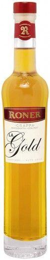 Grappa Roner Oro la Gold 0,2l