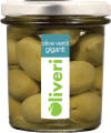 Oliveri Grüne Oliven mit Kern